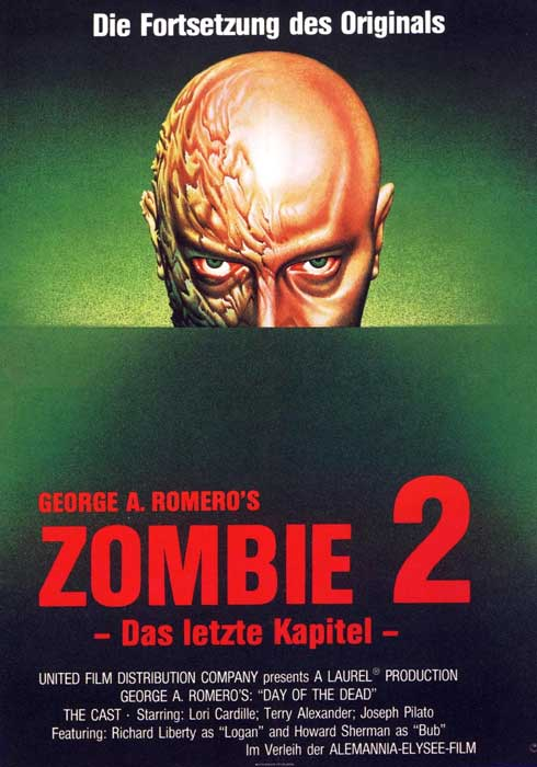 Day of the Dead German Zombie 2 Poster