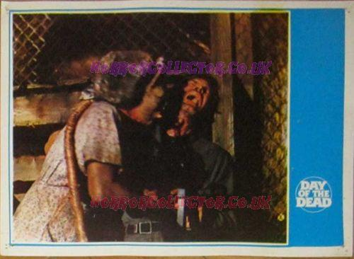 Day of the Dead Turkish Lobby Cards 2