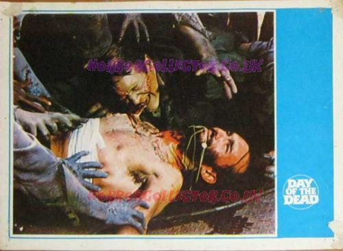Day of the Dead Turkish Lobby Cards 3