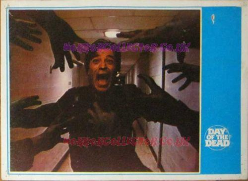 Day of the Dead Turkish Lobby Cards 4