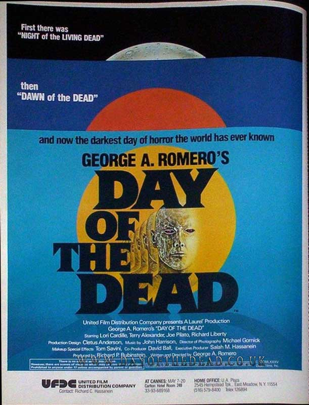Day of the Dead Magazine Ad 01