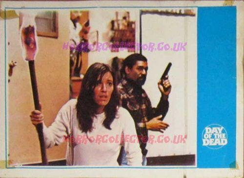 Day of the Dead Turkish Lobby Cards 1