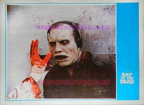 Day of the Dead Turkish Lobby Cards 5