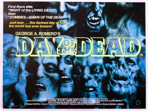 Day of the Dead British Quad Movie Poster