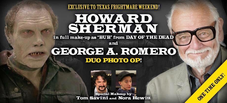 george romero howard sherman texas frightmare weekend