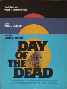 DAY OF THE DEAD EXHIBITOR PROGRAM 1983